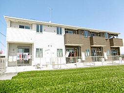 静岡県磐田市東原の賃貸アパートの外観