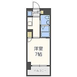 ダイナコート六本松5[7階]の間取り