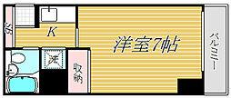 大井町タウンハウス[4階]の間取り