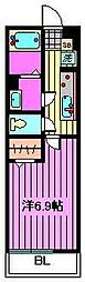 リブリ・ロッソ[1階]の間取り