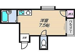 メゾンモア[305号室]の間取り