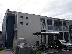 山口県山陽小野田市北竜王町の賃貸アパートの外観
