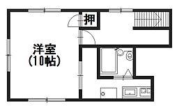 KMマンション[301号室]の間取り