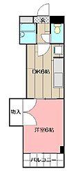 グランドマンション小倉[102号室]の間取り