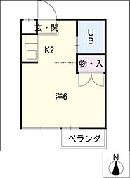 TIマンション[3階]の間取り