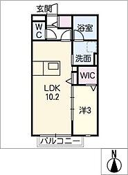Arenisca[2階]の間取り