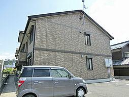 滋賀県甲賀市水口町八光の賃貸アパートの外観