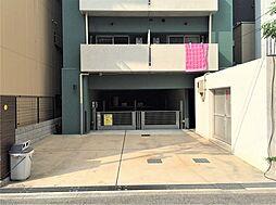 大阪市中央区高津3丁目の機械式駐車場
