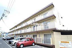 岡山県岡山市南区豊成1の賃貸マンションの外観