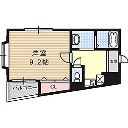 グリーンピア芥川[2階]の間取り