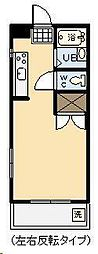 オクトワール宮崎西1番館[305号室]の間取り