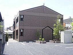 茨城県水戸市松本町の賃貸アパートの外観
