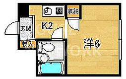 KTマンション[211号室号室]の間取り