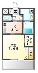 GRACE・FORT・TATUMI[6階]の間取り