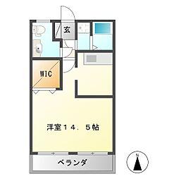 広瀬ビル[1階]の間取り