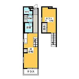 新川橋駅 5.8万円
