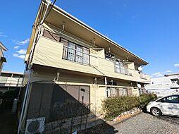 千葉県佐倉市表町2丁目の賃貸アパートの外観