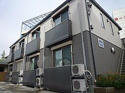 千葉県柏市末広町の賃貸アパートの外観