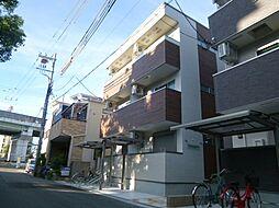 大阪府大阪市東住吉区中野3丁目の賃貸アパートの外観