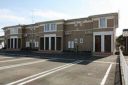 静岡県袋井市下山梨の賃貸アパートの外観