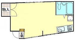 エクセルシオール[205号室]の間取り