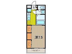 リブリ・SUNエース1[2階]の間取り