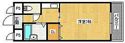 グランドハウス大野[1階]の間取り