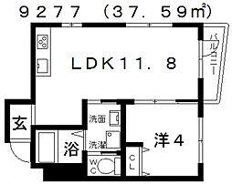 Domani(ドマーニ)[303号室号室]の間取り