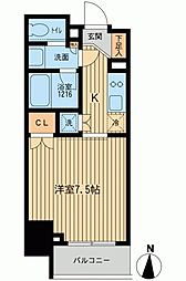 ルフォンプログレ上野入谷[0901号室]の間取り
