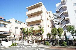 兵庫県伊丹市南本町1丁目の賃貸マンションの外観