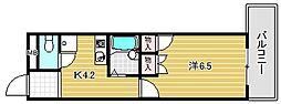 旭ビル[303号室]の間取り