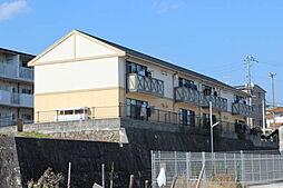 広島県広島市佐伯区坪井2の賃貸アパートの外観