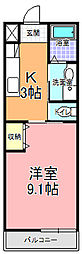 SAMURAI HITACHI[202号室]の間取り