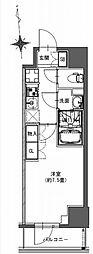 都営新宿線 馬喰横山駅 徒歩9分の賃貸マンション 7階1Kの間取り