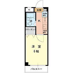 ハイムロアール[3階]の間取り