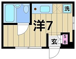 第二TKビル[102号室]の間取り