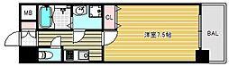 クレアートヨーロッパアベニューシティライフ[7階]の間取り