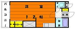 レジデンス松香[5階]の間取り