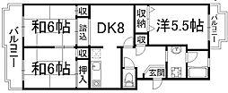 マッシュハイムI[2階]の間取り