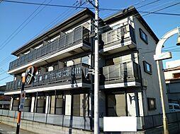 千葉県千葉市花見川区南花園2丁目の賃貸アパートの外観
