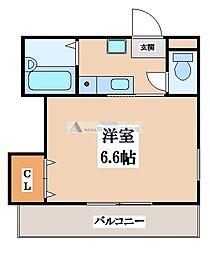 コラソンスクエア[3階]の間取り
