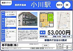 コーポ武蔵野[1階]の間取り