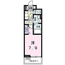 カルム[2階]の間取り