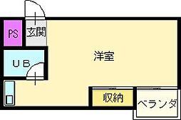 和田ビル[2階]の間取り