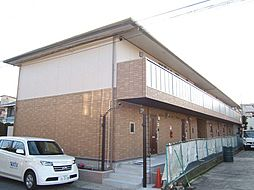 京都府京都市山科区勧修寺瀬戸河原町の賃貸アパートの外観