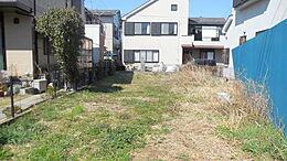 敷地面積33.87坪、建築条件付き売地、限定1棟   お好みのプランでマイホームを