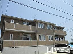 愛知県みよし市根浦町3丁目の賃貸アパートの外観