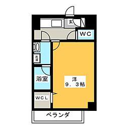 駅前町新築マンション[8階]の間取り