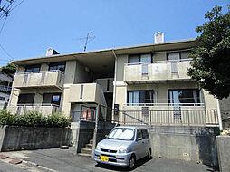 福岡県北九州市八幡東区八王寺町の賃貸アパートの外観