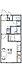 間取り,1K,面積22.7m2,賃料3.8万円,JR播但線 砥堀駅 徒歩3分,,兵庫県姫路市砥堀32-1